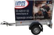 Najem - izposoja: Avtomobilska prikolica LPA 206G