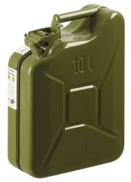 Posoda za gorivo z izlivom kovinska 10l