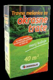 Travna mešanica za okrasne trate, univerzalna 10 kg