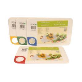 Deska za rezanje mesa in zelenjave 29X18.5CM pvc štiri sort. barve Ed.