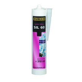 Silikon sanitarni SIL60 ČrnI 310 ml Murexin