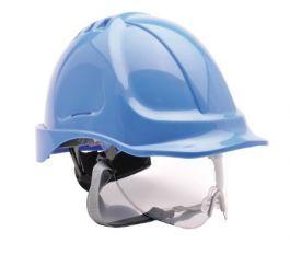Čelada z vizirjem Endurance modra