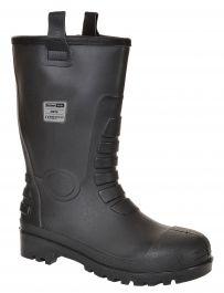 Škornji S5 CI NEPTUNE PVC/nitril, podložen št. 45 črni
