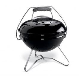 Žar prenosni na oglje Smokey Joe Premium, 37cm, črn Weber