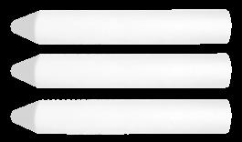 Kreda za les bela 13x85 mm 3/1 TOPEX