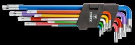 Garnitura Torx ključev Tx10-Tx50/9 del TOPEX