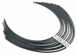 NITKA močna za kosilnice z nitjo  (F016800431), 37 cm, 3,5 mm, 10 kosov BOSCH