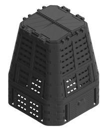 Kompostnik Multi 650L črn