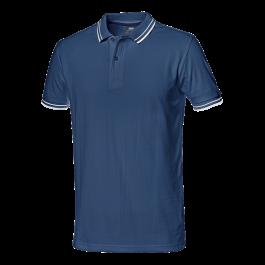 Majica polo SALSA modra z belim robom št.L