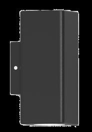 Svetilka zunanja PS2204-2 kvadratna ANTRACIT IP54 2xGU10