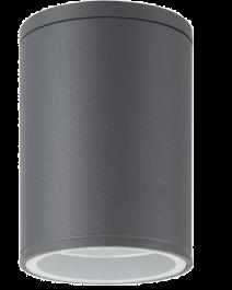 Svetilka LED zunanja AL132C OKROGLA ANTRACIT E27  IP54