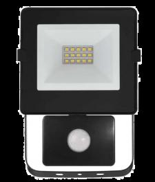 Reflektor LED SLIM 10W PIR HOBBY