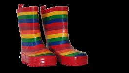 Škornji otroški dekliški št. 25 b. marvrica