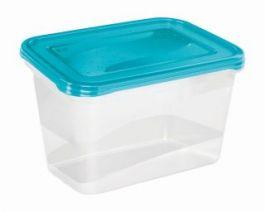 Posoda za hrano Fredo ˝fresh˝ set 2x2l 20,5x15,5x10,5cm modra (