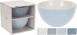 Skleda 500cc NEW BONE porcelan set 2/1 14x6,5x6,5cm  (