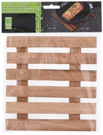 Podstavek za posodo bambus 17,5x18cm   Ed.