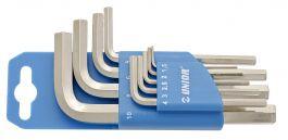 220/3PH 1,5-10/9 Garnitura inbus ključev na plastičnem obešalu