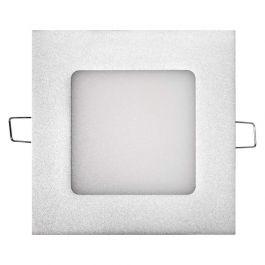 Panel LED vgradni slim kvadratni 6W NW srebrni 450lm 4000K 12x12cm IP20 A+