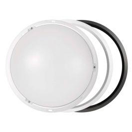 Svetilka LED nado.okrogla črno/bela WW 14W=75W 1000lm 4000K 215x80mm IP54 A+