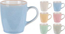 Lonček 220ml različne barve porcelan  (
