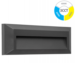 Svetilka LED zunanja ANTRACIT 2W  IP65 P2302 3CCT DG