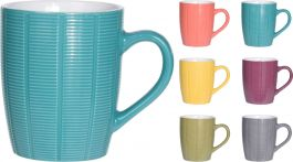 Lonček mug stoneware 370ml   ker. (