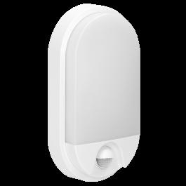 Svetilka LED zunanja s senzorjem OPAL NEFRYT BELA 15W IP54 OR-OP-6147WLPMR4