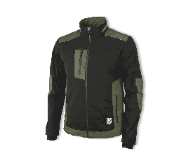 Jakna EREBOS zeleno/črna 56-58 XL