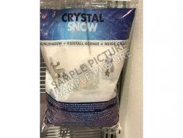 Sneg kristalni dekor. 3 L, Koo.