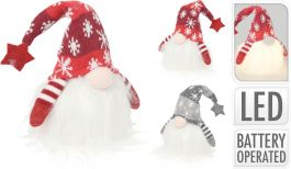 Figura božična palček led 28 cm, Koo.