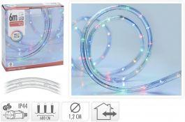 Lučke led svetlobna cev večbarvne 6 m, Koo.