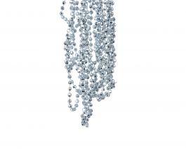 Veriga z diamanti modra, 0,5x270 cm, DSGlas