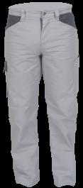 """Delovne hlače na pas BASIC """" S """", svetlo siva"""