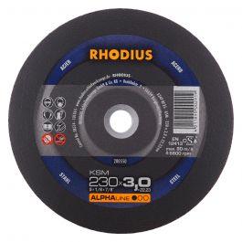 REZALKA 230x3.0x22.23 Fe KSM, ALPHA - RHODIUS 25/karton