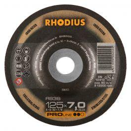 BRUSILKA 125x 7.0(6.0)x22.23 Fe/Inox RS 38, PRO - RHODIUS 25/karton