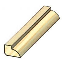 LETEV ZAKLJUČNA PVC DUROPAN-ZUN.KOTNI PROFIL (BELI 10mm 20×36×2700)