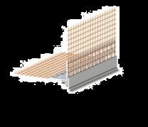 Odkapni profil 2,5m Roefix 10 kos/paket