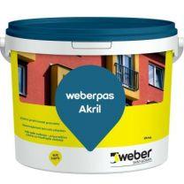 Zaključni omet Akrilni  2,0 mm osnovni toni 25 kg Weber