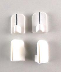 NOSILEC VITRAŽNI SAMOLEPILNI 17x24mm,  beli (Pak=4kos)