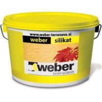 Fasadna barva Silikatna osnovni toni 25 kg Weber