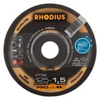 REZALKA 125x1.5x22.23 Fe/Inox XT 38, PRO - RHODIUS 50/karton