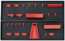 STENA ZA ORODJE RDEČI ELEMENTI 800x250x500mm PATROL (5)