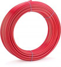 CEV ZA TALNO OGREVANJE  Pex-A 17x2  REHAU, RAUTHERM-S /500 m/kolut 136140-500 REHAU, DIN CERTCO: 3V226 PE-Xa ali 3V227 PE-Xa,neprepustna za kisik v skladu z DIN 4726,Material:peroksidno zamrežen polietilen (PE-Xa), v skladu z DIN 16892,Barva:rdeča RAL 300