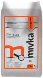 MIVKA GRADBENA SIVA 0-1mm 25kg 40 kos/pal