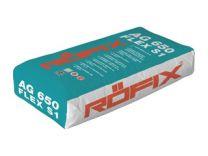 Lepilo za keramiko fleksibilno AG 650 25 kg Roefix 48 vreč/paleta