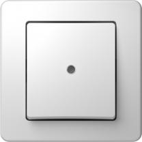 STIKALO 1P s tlivko belo EKONOMIK SB31.01 TEM SE10PWIN-B