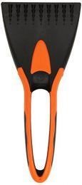 Strgalo za led 21cm črno-oranžen Ed.