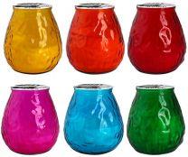 Sveča Citronella v steklu cca 4dcl čas gorenja 40 ur (