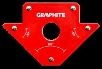 Kotnik magnetni za varilce 102x155x17mm - 56H902 GRAPHITE