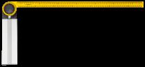 Kotnik nastavljiv 75 cm TOPEX